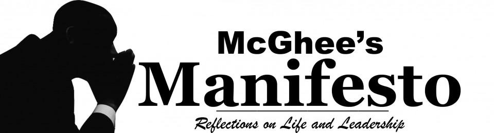 McGhee's Manifesto